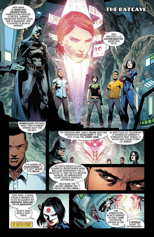 Batman: Detective Comics #987 art by Miguel Mendonca, Diana Egea, and Adriano Lucas
