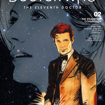 Doctor Who: The Road to the Thirteenth Doctor- The Eleventh Doctor #1 cover by Robert Hack