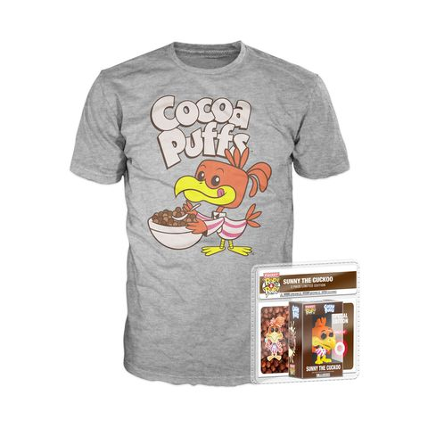 Funko Ad Icons Pop Tees Cocoa Puffs