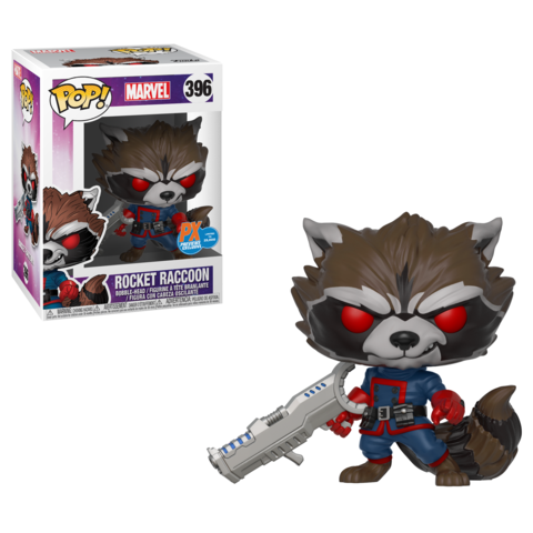 Funko Marvel Rocket Raccoon Previws Exclusive Pop