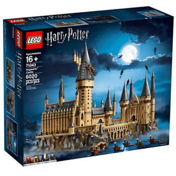 Hogwarts Castle LEGO Set Box
