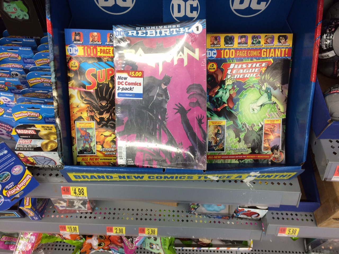 Comic Store in Your Future: Walmart and DC Make Money, So