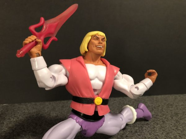Super7 Masters of the Universe Laughing Prince Adam 6