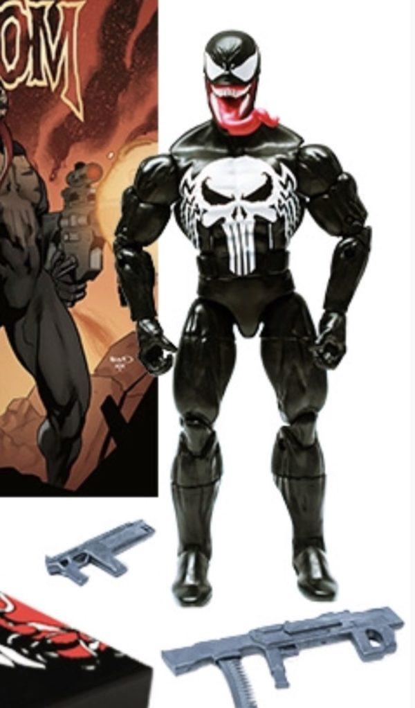 Marvel Unlimited Venom Punisher Marvel Legends Bundle 2