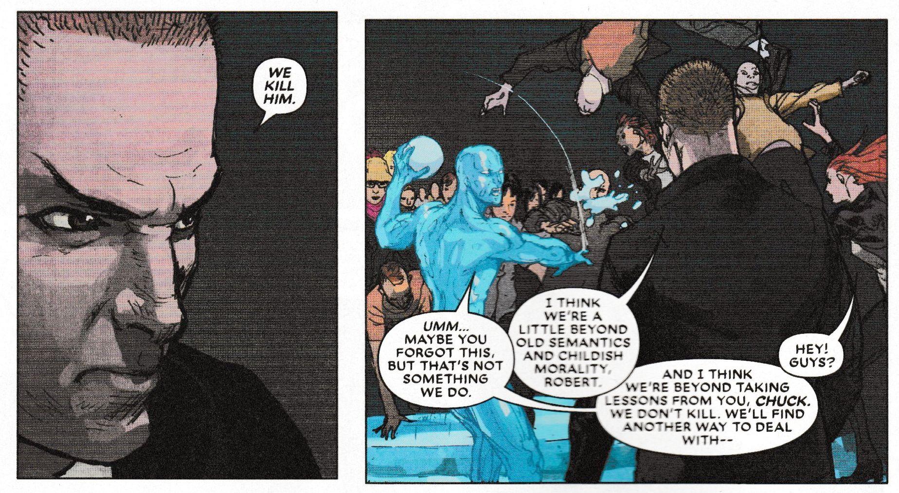 Comic book semantics and locus of control