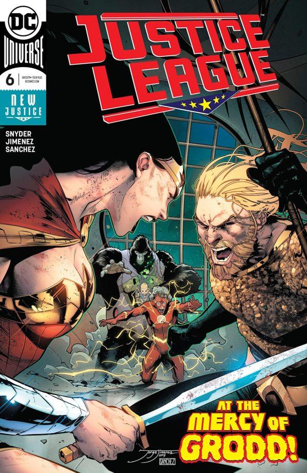 Justice League #6 cover by Jorge Jimenez