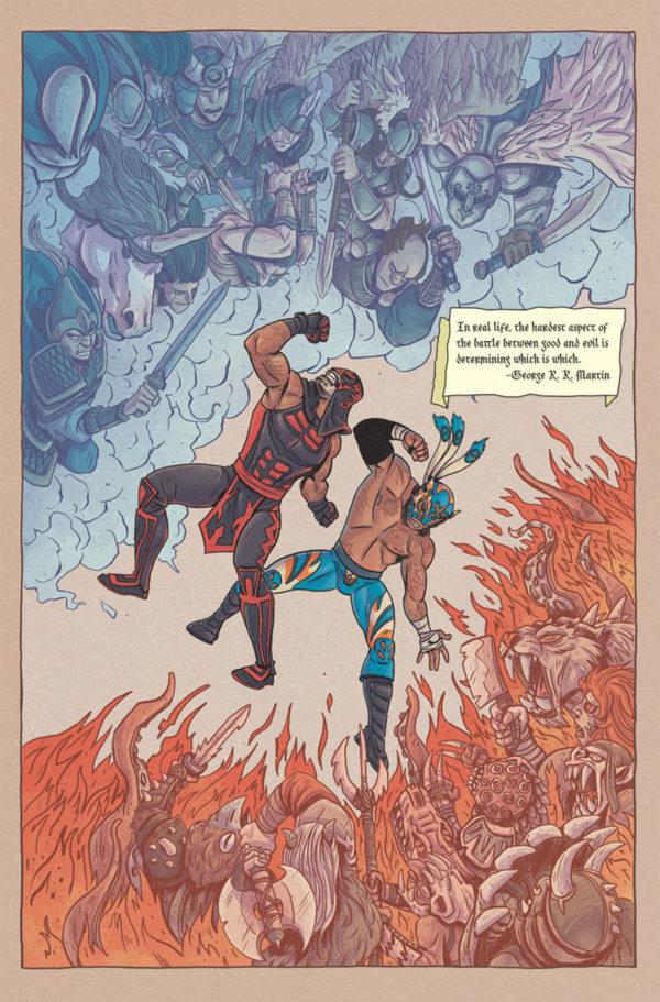 Masked Republic lanzará comic de Lucha Brothers 3