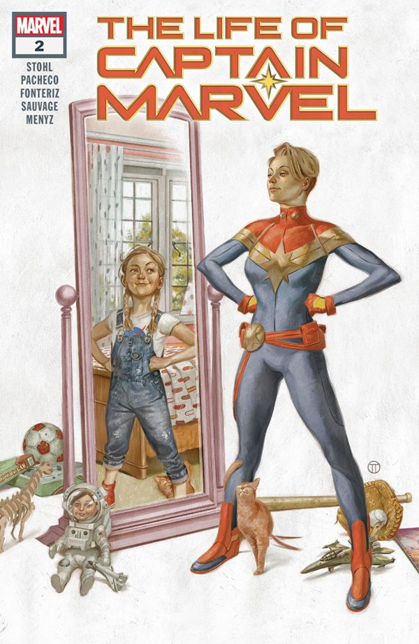 The Life of Captain Marvel #2 cover by Julian Totino Tedesco
