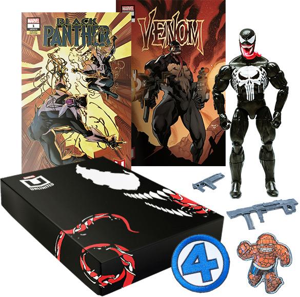 Marvel Unlimited Venom Punisher Marvel Legends Bundle
