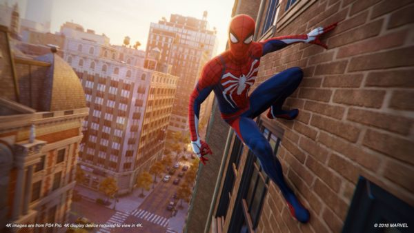 Sony Releases New 4k Images Of Marvel S Spider Man For Ps4