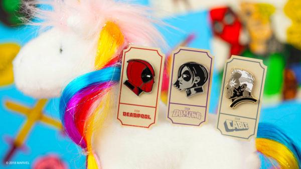 Mondo Deadpool 2 Enamel Pins