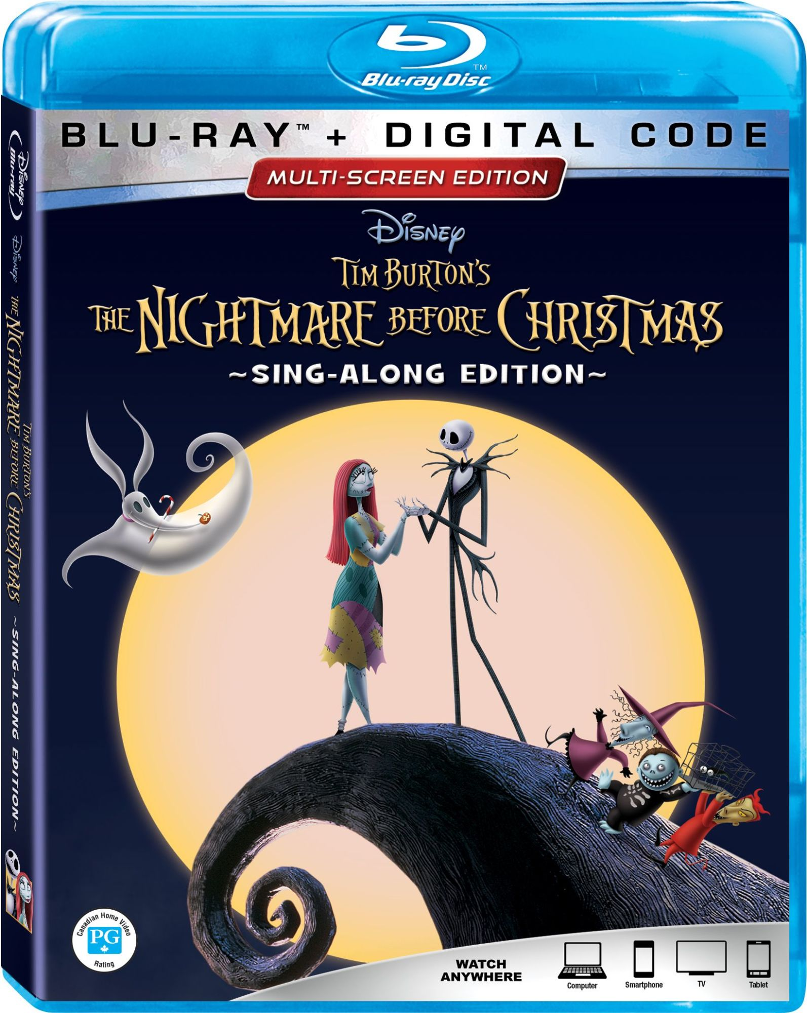 The Nightmare Before Christmas\' 25th Anniversary Blu-ray Details ...