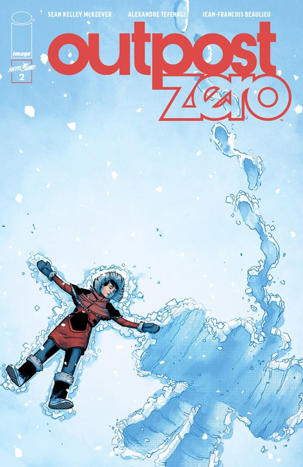 Outpost Zero #2 cover by Alexandre Tefengki and Jean-Francois Beaulieu