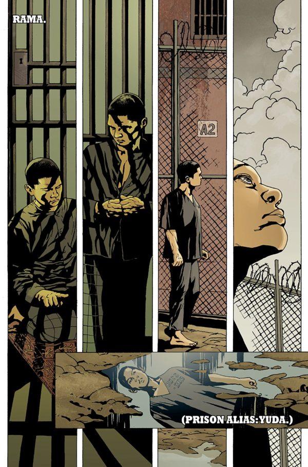 The Raid #1 art by Budi Setiawan and Brad Simpson