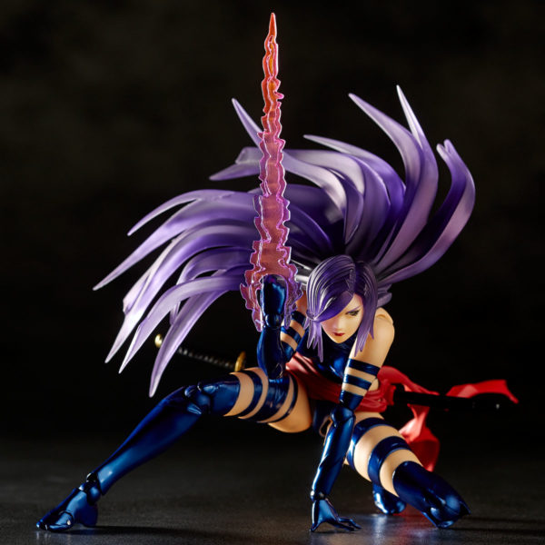 Revoltech Psylocke 10