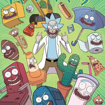 Rick and Morty #40 cover by Marc Ellerby and Sarah Stern