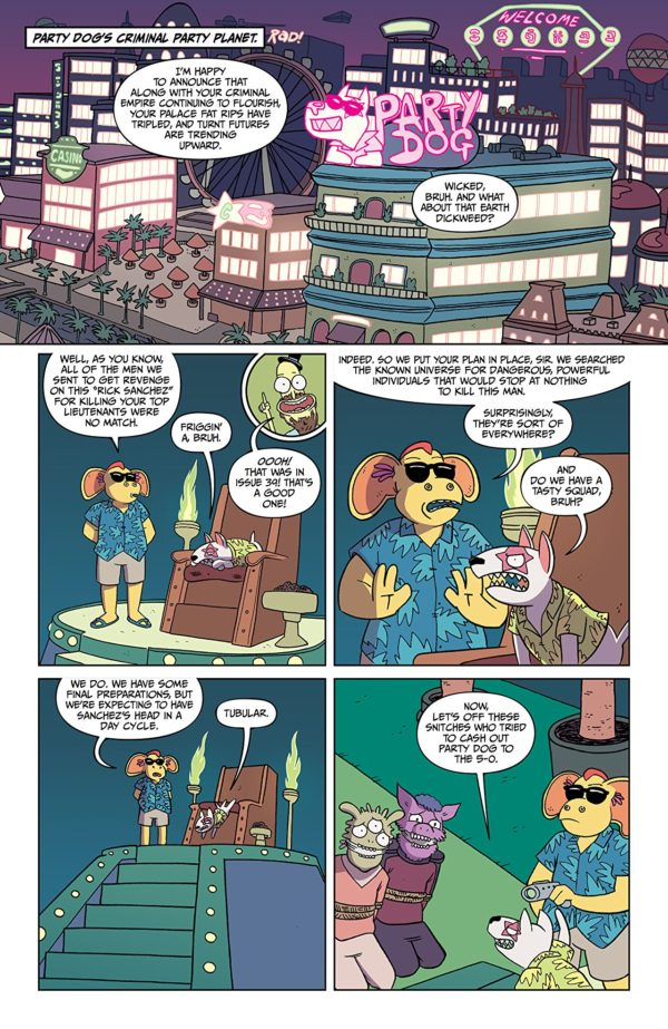 Rick and Morty #41 art by Marc Ellerby and Sarah Stern
