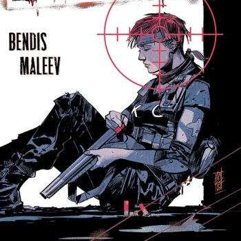 Scarlet #1 cover by Alex Maleev