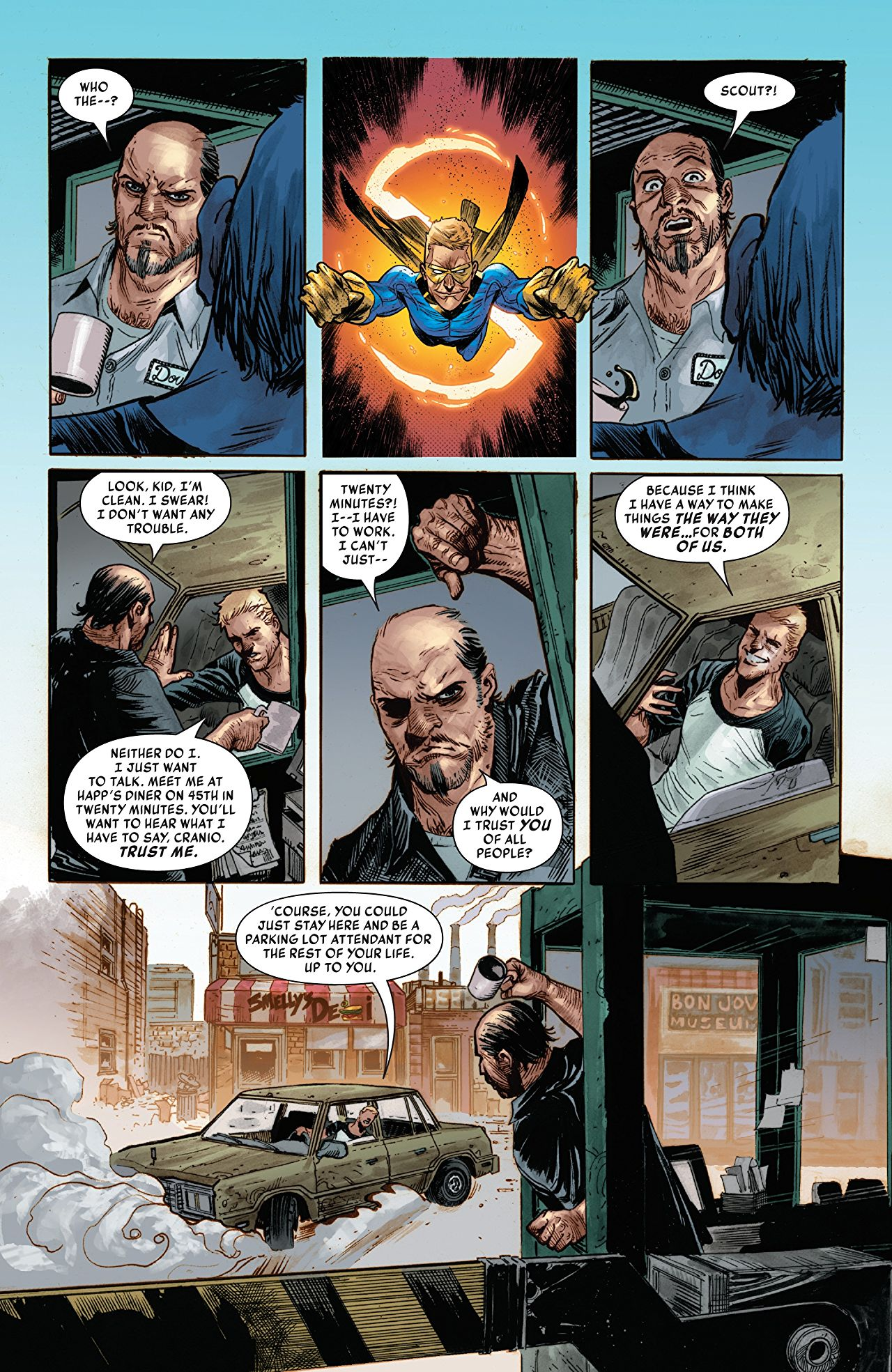 The Sentry #3 art by Joshua Cassara, Kim Jacinto, and Rain Beredo