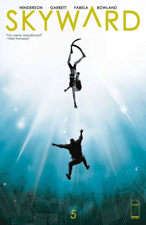 Skyward #5 cover by Lee Garbett