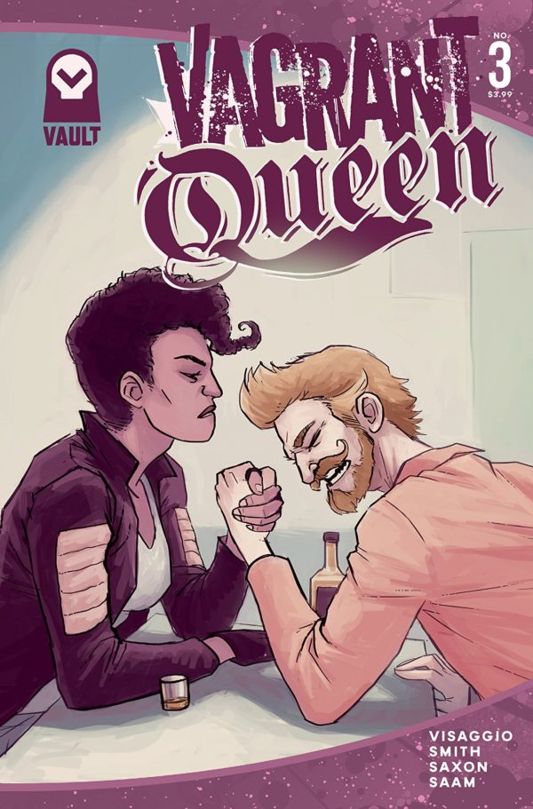 Vagrant Queen #3 cover by Jason Smith