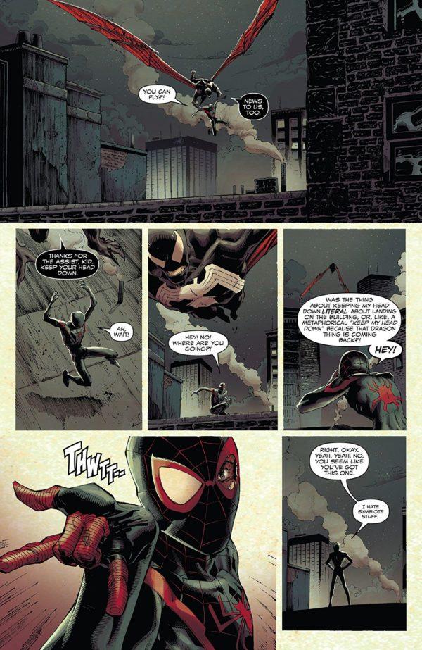 Venom #5 art by Ryan Stegman, JP Mayer, and Frank Martin