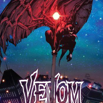 Venom #5 cover by Ryan Stegman, JP Mayer, and Frank Martin