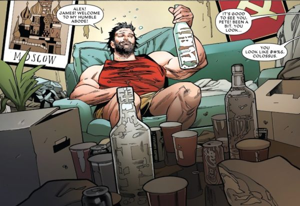 Image result for astonishing x-men 14 colossus