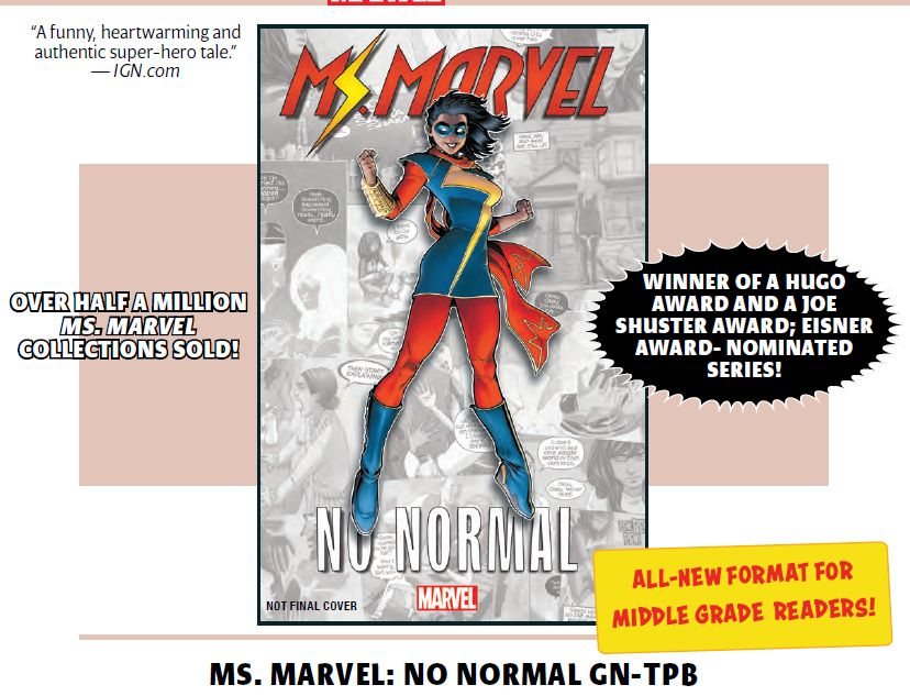 Marvel Creates a New $13 Twelve-Issue Middle-Grade Reader Format