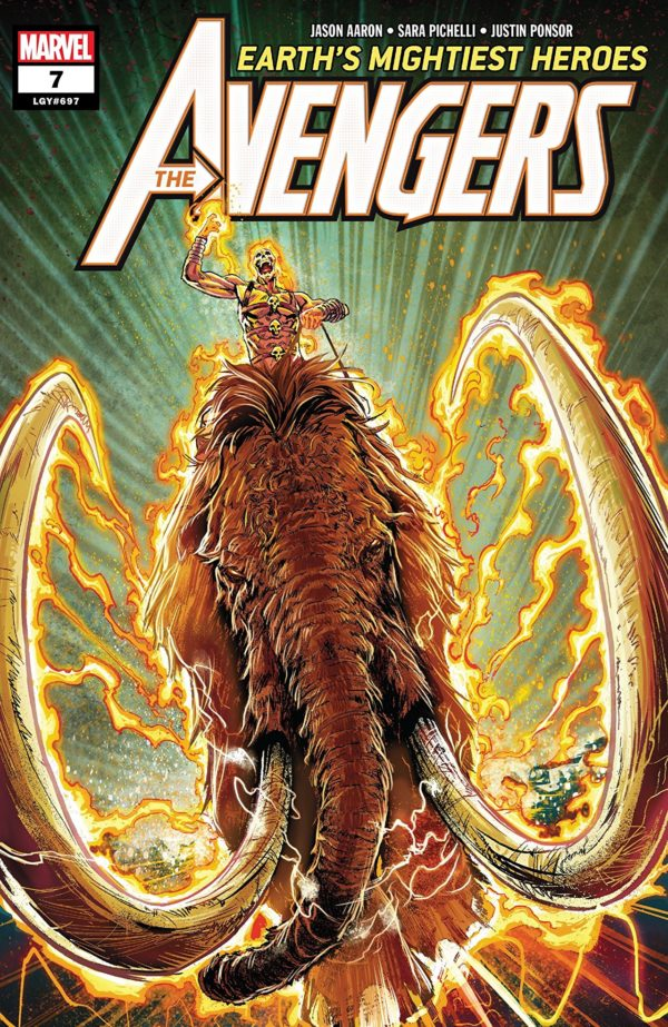 Avengers #7 cover by Geoff Shaw and Jason Keith