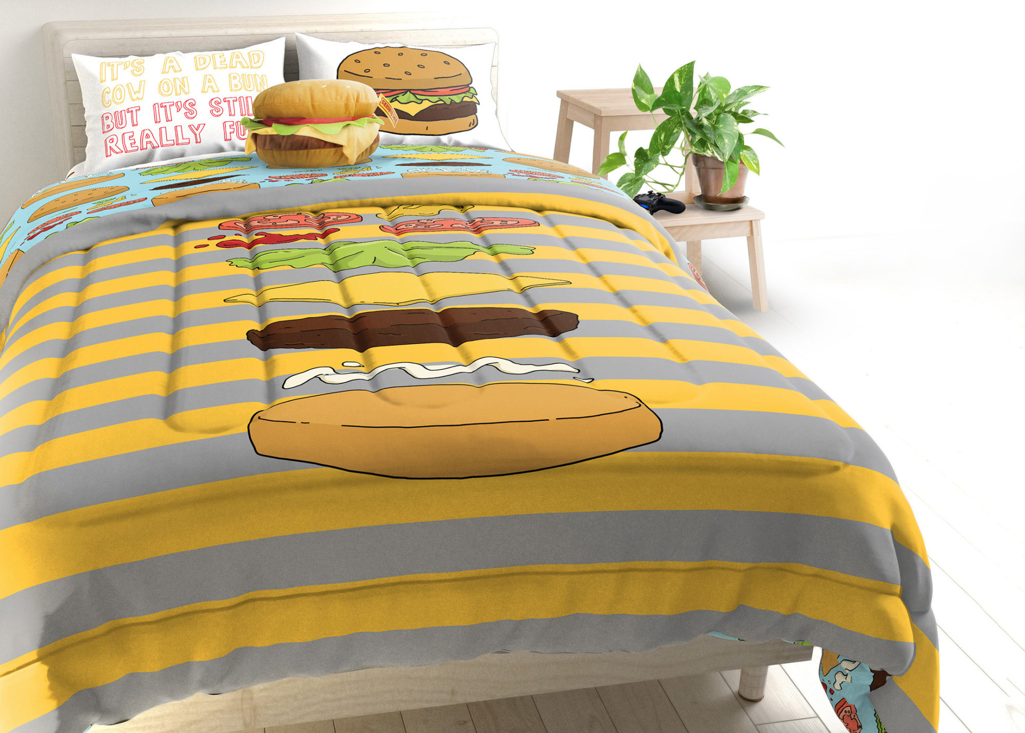 Bob's Burgers Bedding - Jay Franco - Target Exclusive- final