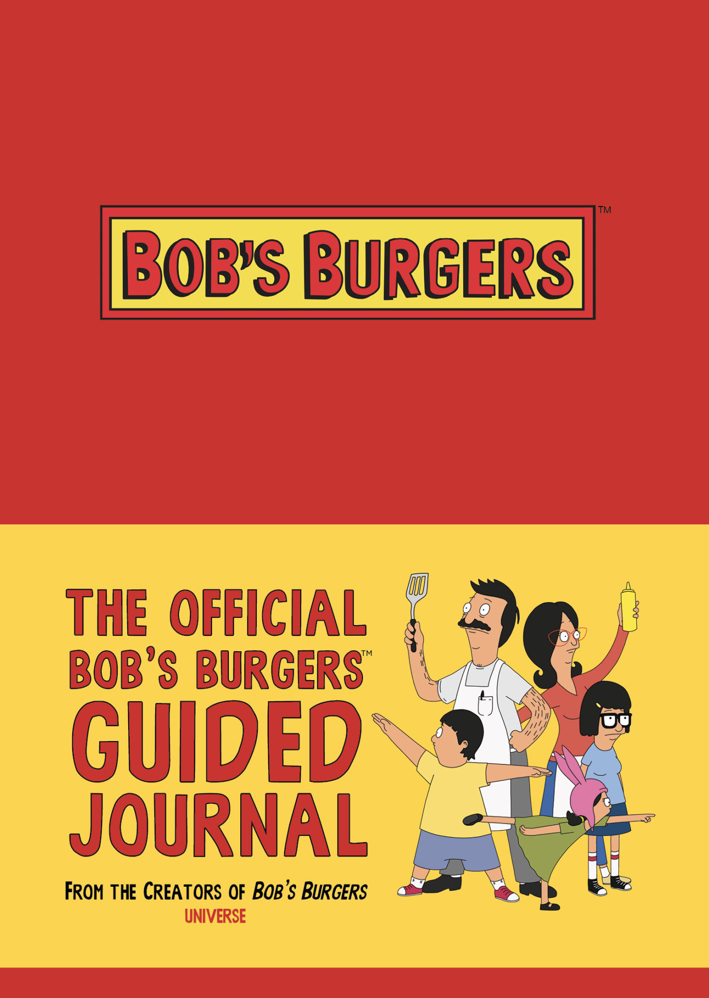 Bob's Burgers Guided Journal (Rizzoli)