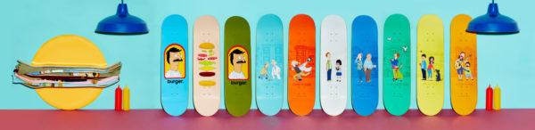 Bob's Burgers Skateboards 2 (Habitat)