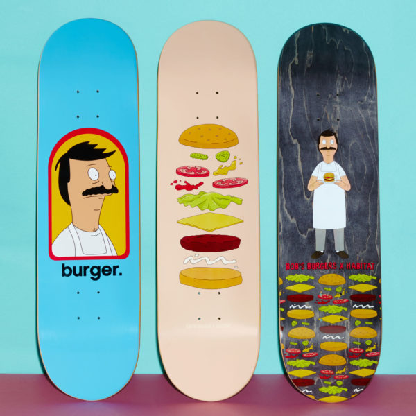 Bob's Burgers Skateboards 4 (Habitat)