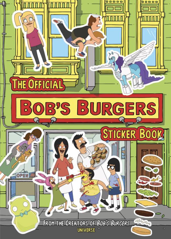 Bob's Burgers Sticker Book (Rizzoli)