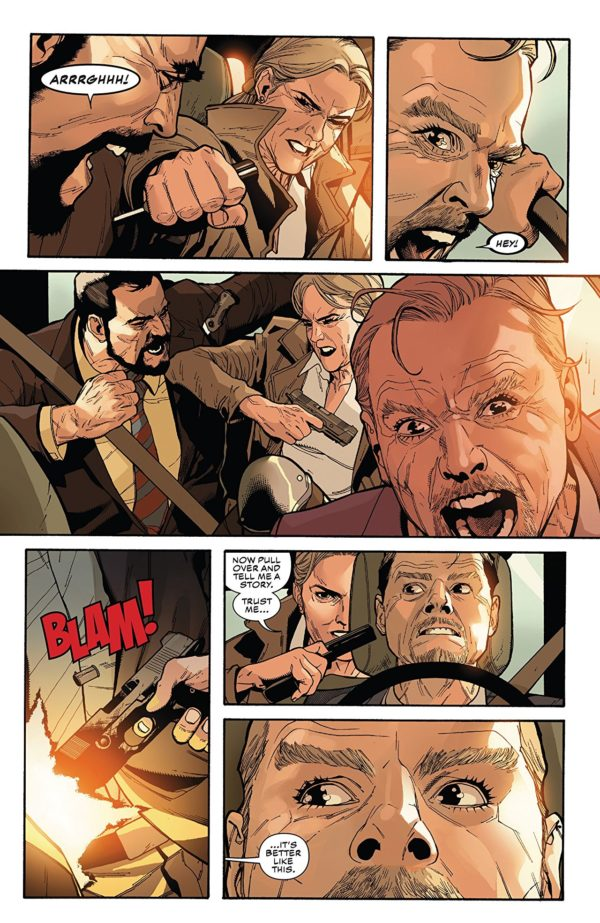 Captain America #3 art by Leinil Francis Yu, Gerry Alanguilan, and Sunny Gho