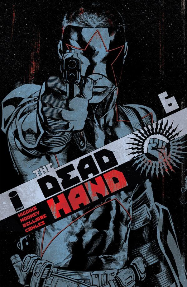 Dead Hand #6 cover by Stephen Mooney and Jordie Bellaire
