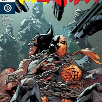 Deathstroke #35 cover by Robson Rocha, Daniel Henriques, and Brad Anderson