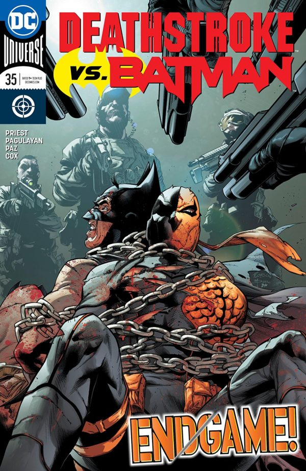 deathstroke 35 review doubling back on some of the boldness