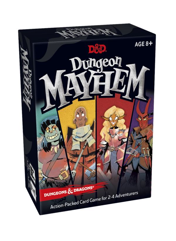 dungeons dragons announces new card game with dungeon mayhem