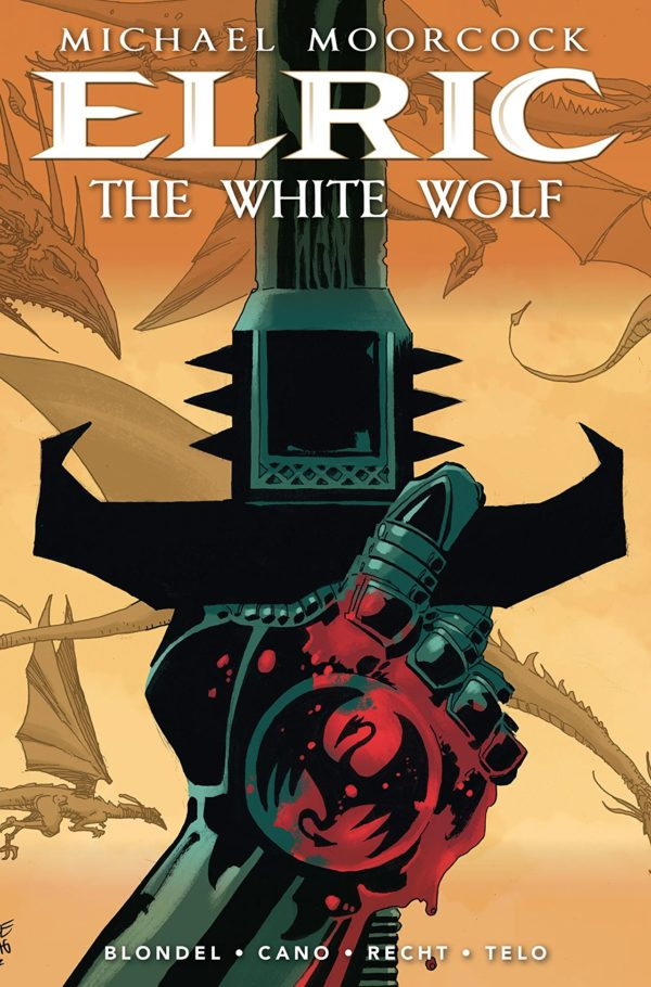 Elric: White Wolf #1 cover by Tim Sale