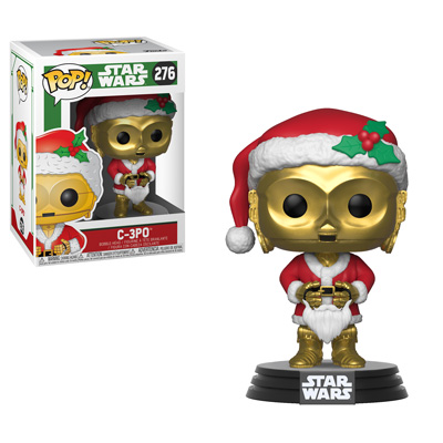 Funko Holiday Star Wars C3PO Pop