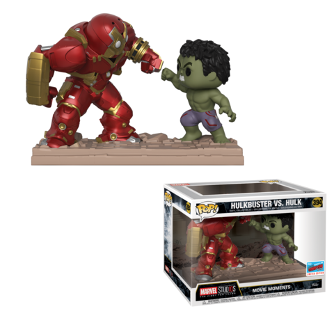 Funko NYCC Marvel Movie Moment Hulk vs Hulkbuster