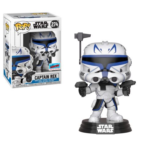 Funko NYCC Star Wars Clone Wars Captain Rex