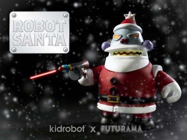 Futurama Kid Robot Robot Santa 1