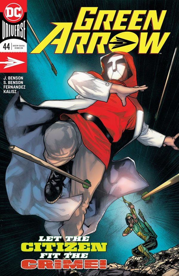 Green Arrow #44 cover by Alex Maleev, Alex Sanchez, and John Kalisz