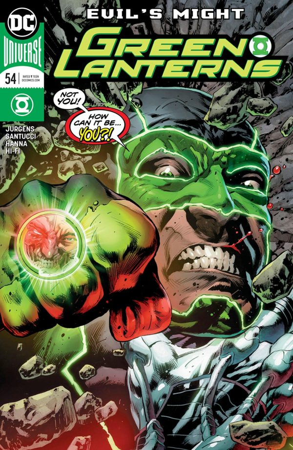 Green Lanterns #54 cover by Mike Perkins and Hi-Fi