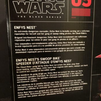 Star Wars Black Series Enfys Nest and Bike 4