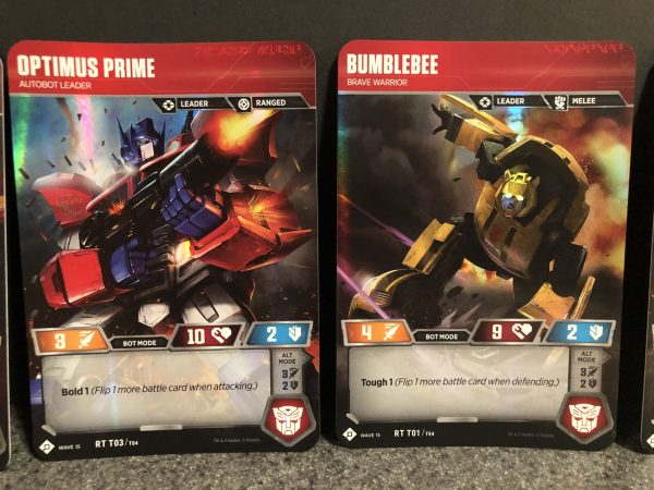 Transformers Trading Card Game 5