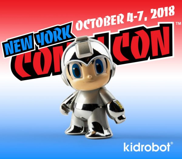 Kidrobot Mega Man NYCC Exclusive